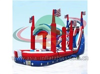 Inflatable All American Water Slide