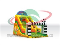 Inflatable Football Theme Slide For Kids