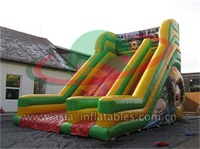 Inflatable Lion Slide