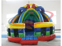 Inflatable Round Double Mini Slide