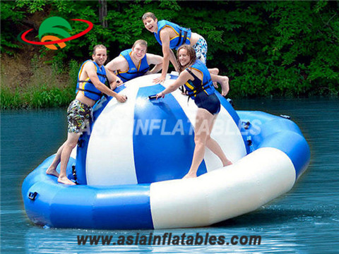 Customized Inflatable Floating Water Spinner With Logo