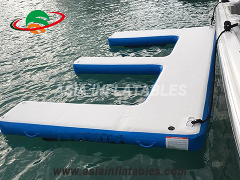 Factory Price Jet Ski Floating Platform, Floating Seabob Dock, Inflatable Water Platform for Yacht