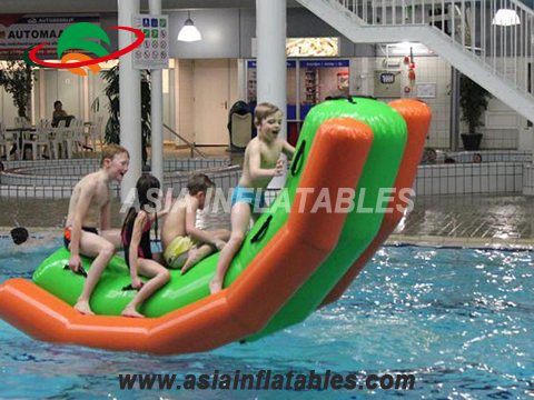 Inflatable water toys, inflatable seesaw for aqua park