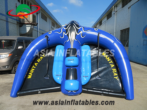 Custom Flying Tube Inflatable Flying Manta Ray