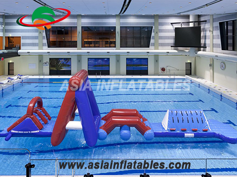 Popular Inflatable Water Aqua Run Course For Outside And Inside