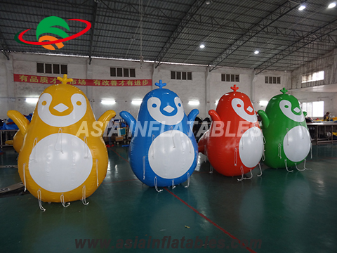 Custom Logo Available Inflatable Long Tube Inflatable Swim Buoys
