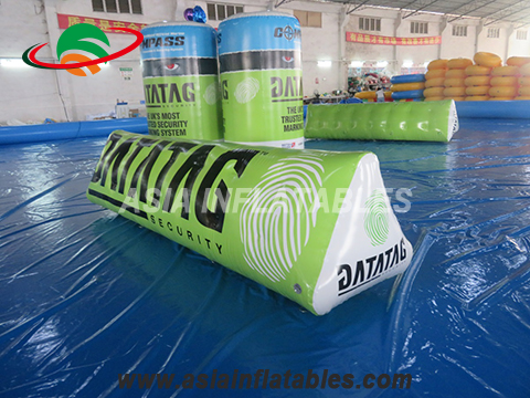 Customized Water Park Inflatable Swim Buoy Inflatable Float Chamber for Water Game
