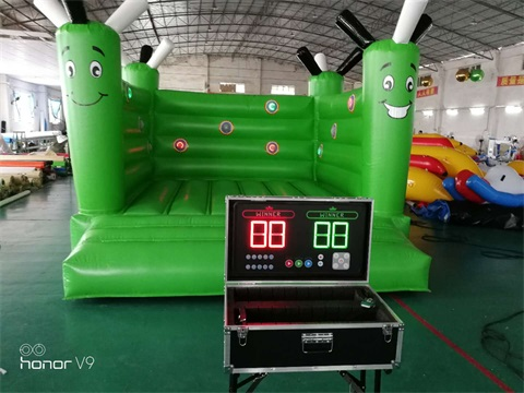 2018 New Design Inflatable Bounce With Interactive Play System