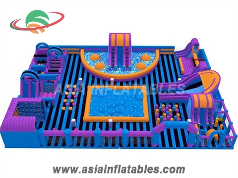 Modern Stylish Inflatable Amusement Park For Rental
