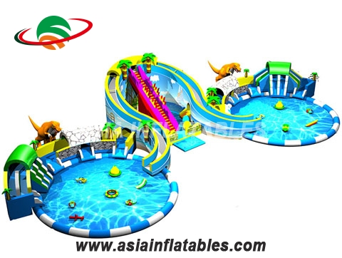 New Design Dinosaurs Inflatable Water Park for Sale