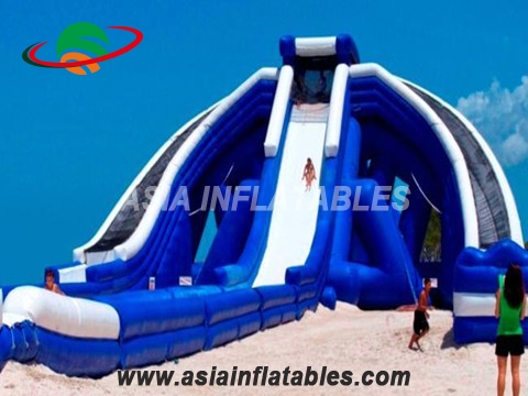 Trippo slide is the worlds largest inflatable slide
