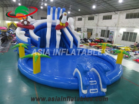 Commercial Grade Penguin Inflatable Water Park for Sale