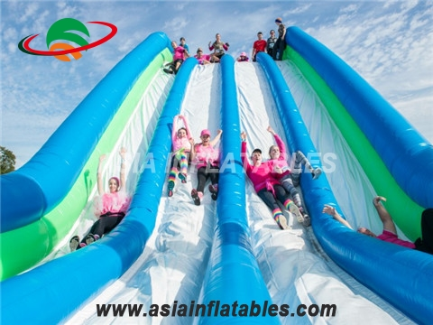 Customized challenging inflatable slide at insane for sale