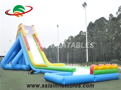Durable giant inflatable slide long giant inflatable water slide for adult