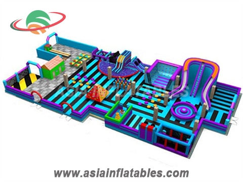Giant Inflatable Theme Park For Sale