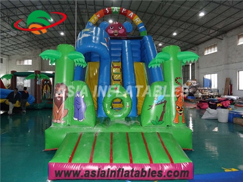 Outdoor Inflatable Safari Slide