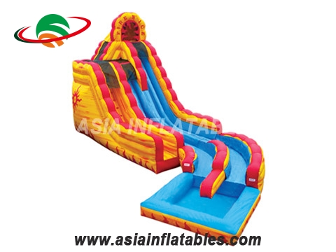 Fire Island Inflatable Water Slide