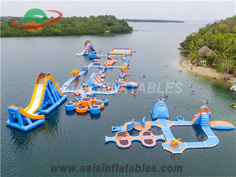 Largest 350 People Inflatable Water Park for Lake