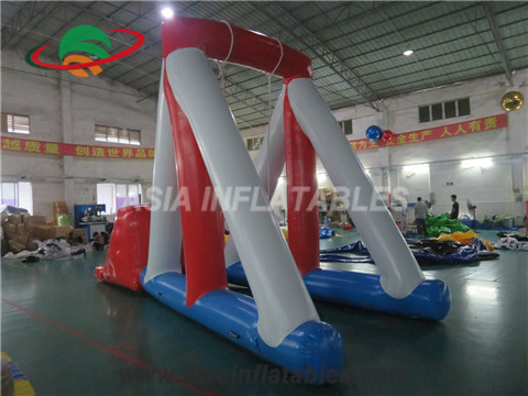 Inflatable Swing N Step in Water Park