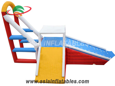 Inflatable High Jump Swing Jumping Tower in Water Park