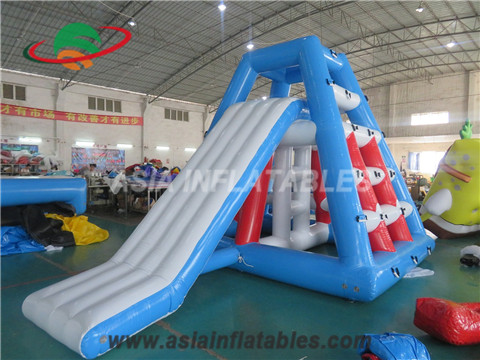 Inflatable Jungle Joe Slide at Water Park